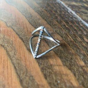 Jewelry - Black Onyx & Silver Ring